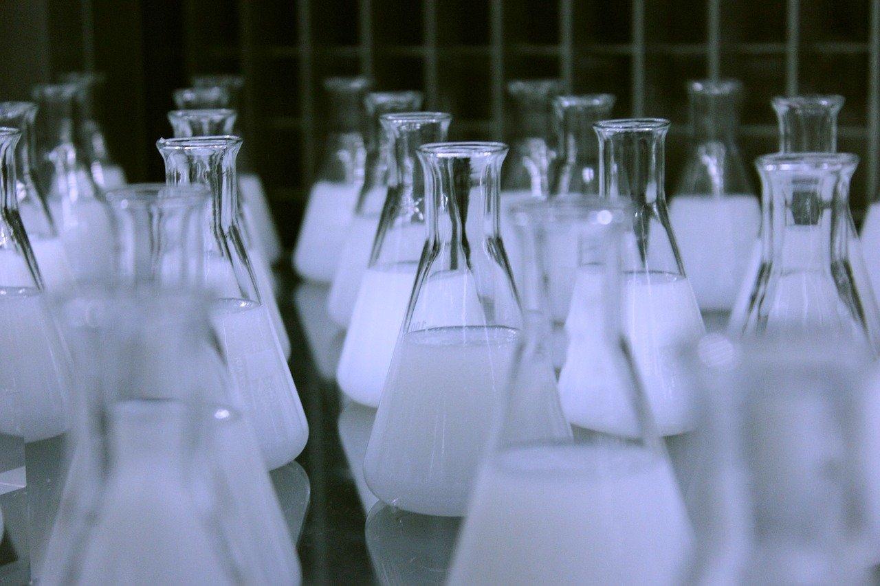 flasks, erlenmeyer, chemistry