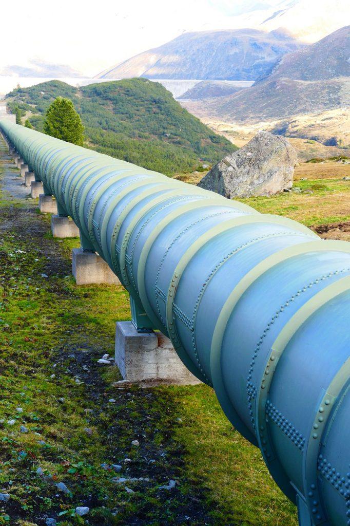 pipeline, pressure water line, tube